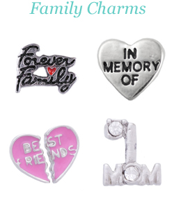 Origami Owl Family Charms