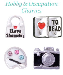 Origami Owl Hobby & Occupation Charms