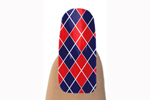 Jamberry Navy Red Nail Shield