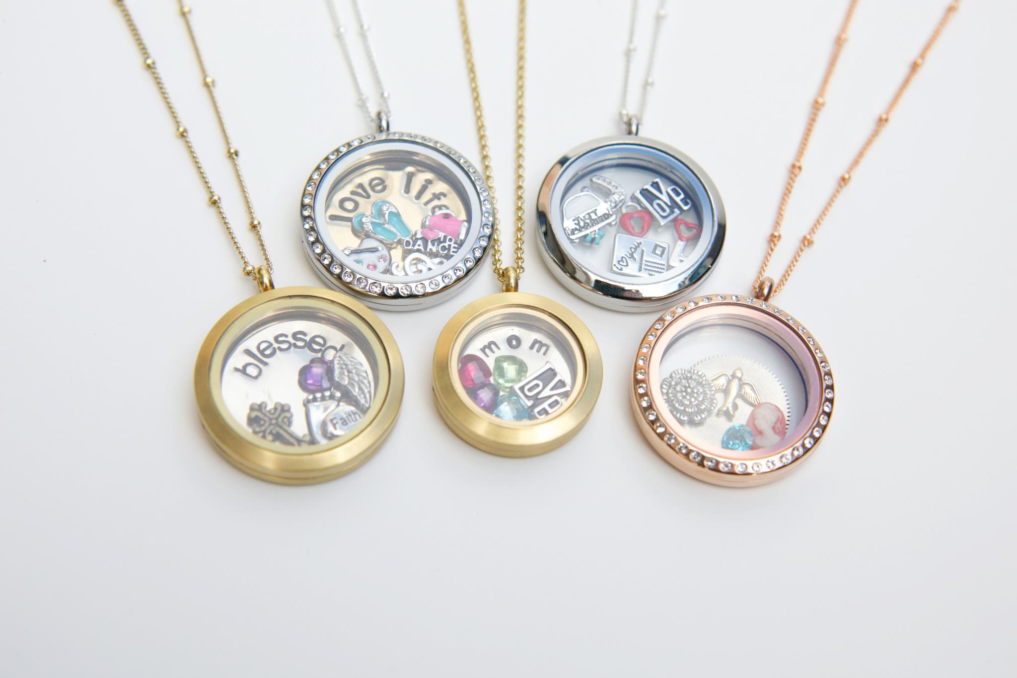 Buy origami owl jewelry online charms necklace products origami owl locket pendants jeuxipadfo Gallery