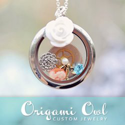 origami owl jewel